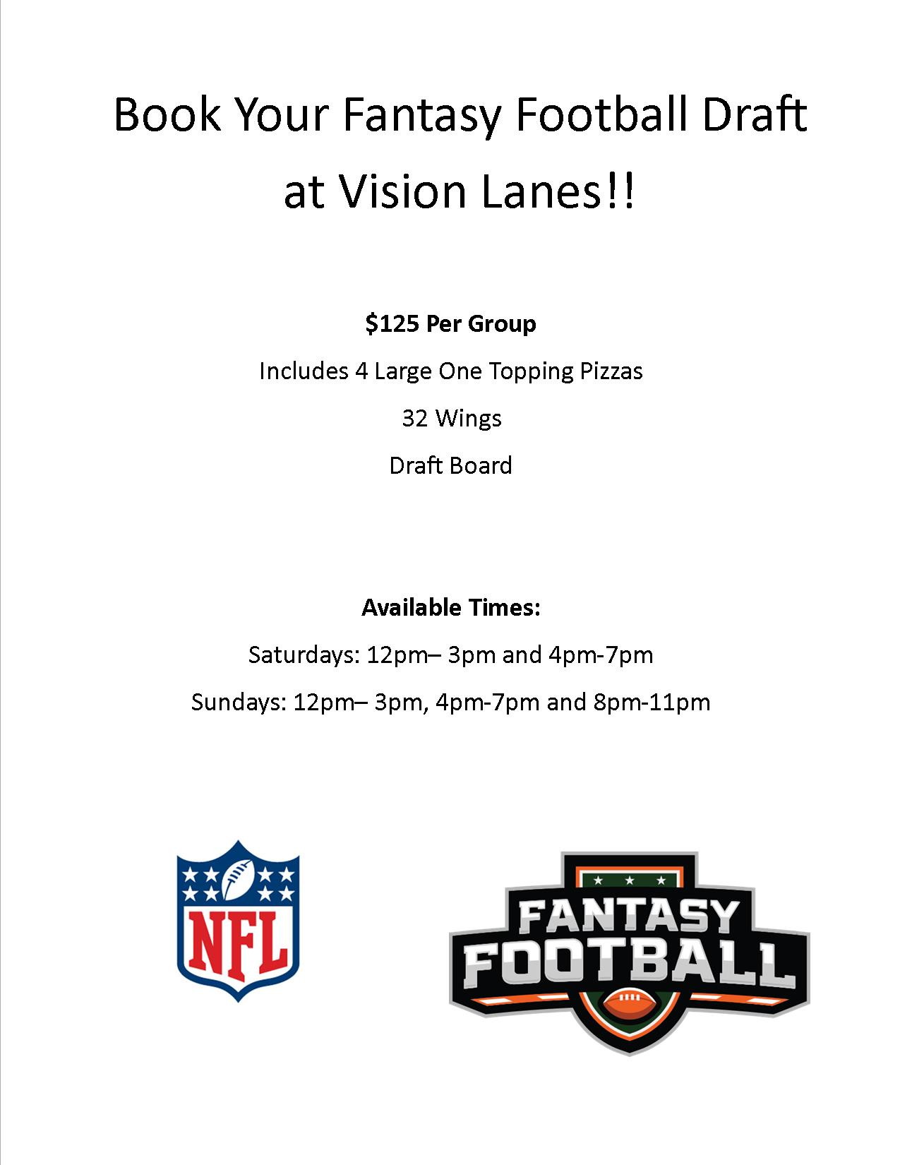 Fantasy Football Flyer