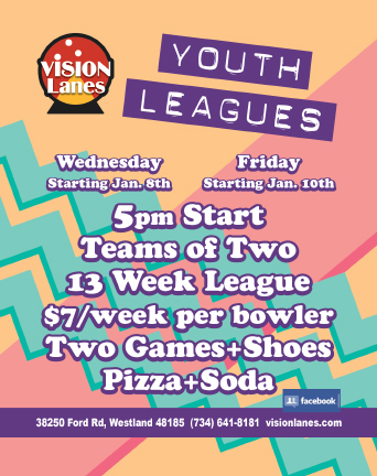 vision lanes youth leagues